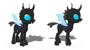 3D Changeling by Tassadoul