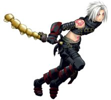Haseo, First Form by Feylore