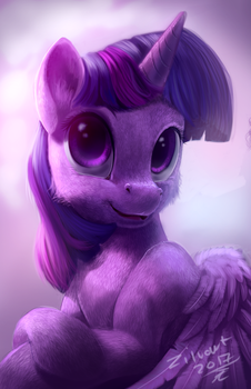 Twilight portrait by zilvart