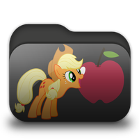 Applejack Folder Icon by Togekisspika35