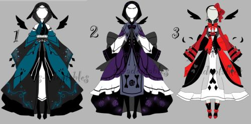 fantasy  outfit adoptables CLOSED by AS-Adoptables