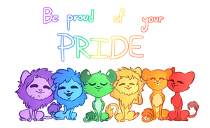 Be proud of your pride by MissDiealot