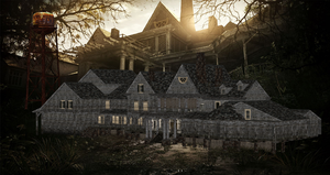 RESIDENT EVIL 7 - MANSION EXTERIOR by Oo-FiL-oO