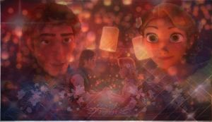 Eugene and Rapunzel I See the Light by x12Rapunzelx