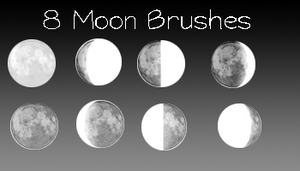 Moon Brushes by serene1980