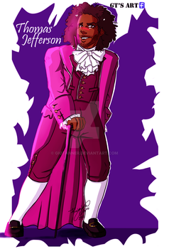 Thomas Jefferson (Whaaat?) by GioTanner