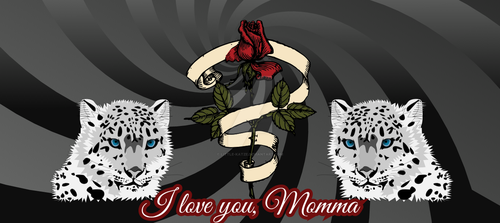 I miss you, momma. by Little-Katze