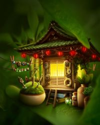 The Hut by KateRodrigues