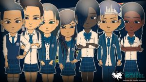 Teens After School - The Troublesome by GrandLS
