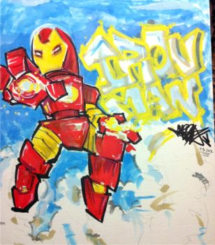 Iron Man by Jarrad113