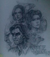 the wolf among us by ShivaWalker