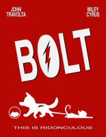 Bolt Movie Poster by Sudak