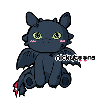 Toothless by NickyToons