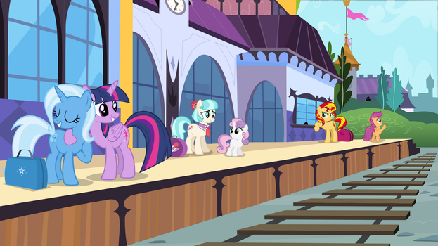 Back On Track by adcoon