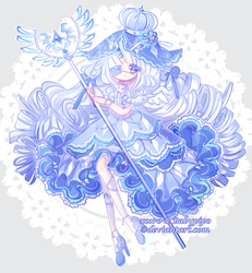 [Collab-Auction] Kittycorn- Blue Diamond [CLOSED] by BabyPippo