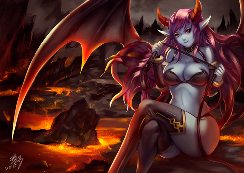 Succubus by Wuduo