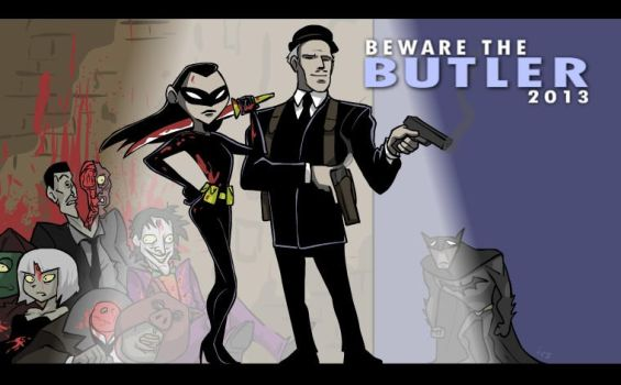 Beware the Butler by tran4of3