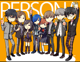 PERSONA 20TH ANNIVERSARY by Sandy-kun