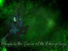 Chrysalis the Queen of the Changelings by DirtPoorRiceKing
