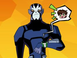 Substitute wielder of the Omnitrix by CheshireP