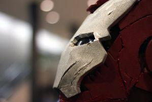 Iron Man's Close Up Shot by geekypandaphotobox