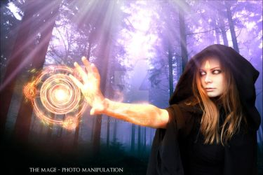 The Mage - Photo Manipulation by V3N0MX92