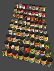 XPS Canned Food Pack (Portal mod) by DigitalExplorations