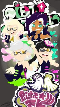 Squid Sisters  Off The Hook Fanart by Ricky852