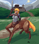 Paladin Centaur by RetroInk