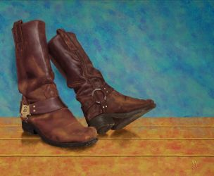 Leather Boots by agapetos
