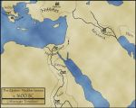 The Eastern Mediterranean in an Alternate 1600 BC by TyrannoNinja