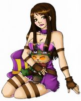 Caitlyn and Teemo by Vanilla-Brownie