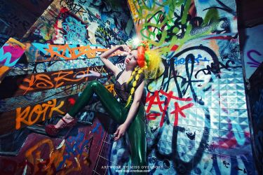 Graffiti glam by Ophelia-Overdose