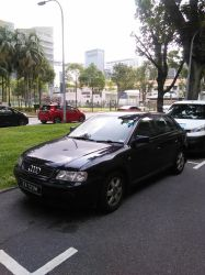Black Audi A3 8L by Amgnismo