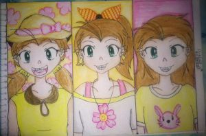 Luan Loud: Three times the Laughter by Trexe13