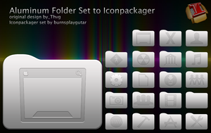Aluminium Folder Set  to IP by burnsplayguitar