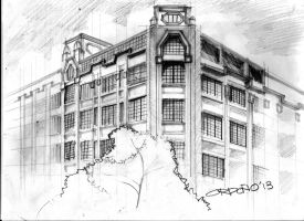 Perez-Samanillo Building (First United Building) by migzmiguel08