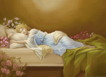 Sleeping Beauty by TenshiHime7