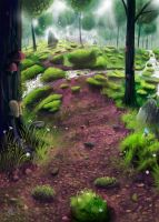 Sanctuary Forest by Syntetyc