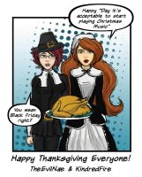 Budget Heroics: Thanksgiving by TheEvilNae