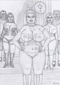 Long Live the White Pussycat of Hellfire Club by yerbouti