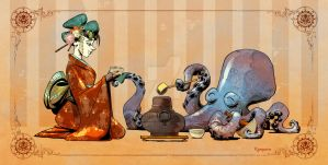 Teatime with Otto by BrianKesinger