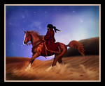 Arabian Dreamer by BlueBird-Graphics