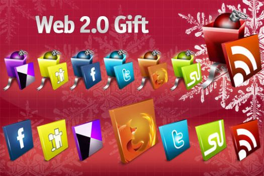 Web 2.0 Gift Icons by iconspedia
