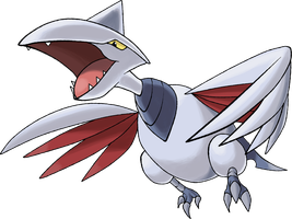 Skarmory  Day 7 by TheAngryAron