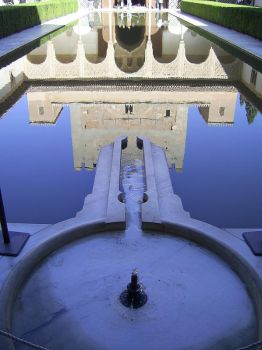 Reflected Alhambra by LaurenCherry