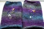 Embroidered Gloves 2 by VickitoriaEmbroidery