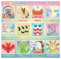 Kawaii 2010 Art Summary Meme by KawaiiUniverseStudio