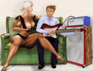 Gloria and friend by MuscleWomen-Planet
