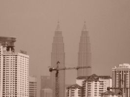 The Petronas Twin Towers. by Talk3talk4